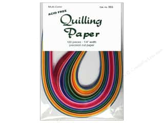 Lake City Crafts Quilling Paper 1/4 in. Multi 100 pc.
