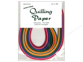 quilling: Lake City Crafts Quilling Paper 1/8 in. Multi 100 pc.