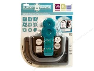 Scrapbooking Sale We R Memory Lucky 8 Punches: We R Memory Punch Lucky 8 Retro Scallop