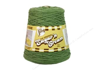 yarn: Lily Sugar 'n Cream Yarn Cone 14 oz. #02084 Sage