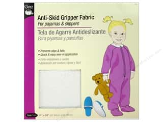pajama: Dritz Anti Skid Gripper Fabric 11 x 24 in. White