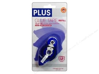 glues, adhesives & tapes: Plus Glue Tape 8.4 mm x 72 ft. Permanent Refill