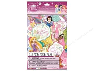 die cuts: EK Die Cuts Cardstock Disney Princess