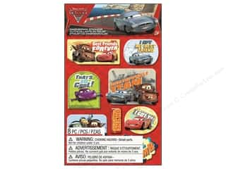 EK Disney Sticker Dimensional Cars 2