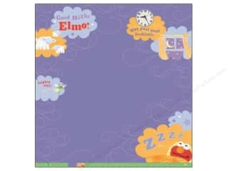 EK 12 x 12 in. Paper Sesame Street Elmo Goodnight Thermography