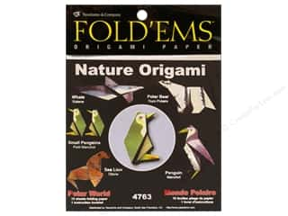 books & patterns: Yasutomo Fold Ems Origami Paper Nature Polar World