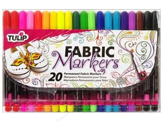 Tulip Fabric Marker Fine Tip Multi 20 pc.