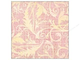 cardstock Iridescent: K&Company 12 x 12 in. Paper Kelly Panacci Blossom Collection Thermography Flourish Glitter (12 sheets)