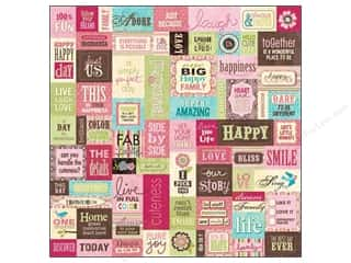 Everything You Love Sale Scrapbooking: K&Company Paper 12x12 Kelly Panacci Blossom Patchwork (25 sheets)