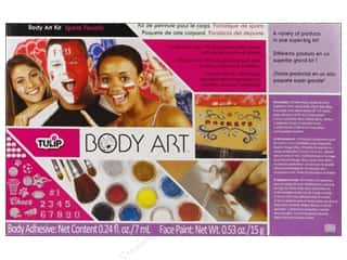 Weekly Specials Leisure Arts Loop-D-Doo Kits: Tulip Body Art Kit Paint & Glitter Sports Fanatic