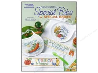 Leisure Arts Cross Stitch Special Bibs For Special Babies Pattern