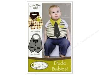 books & patterns: Vanilla House Dude Babies Bibs Pattern