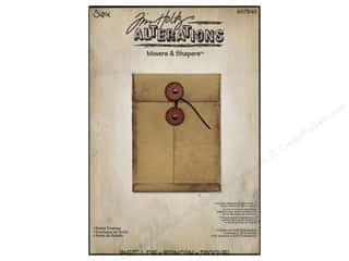 Sizzix Movers & Shapers L Die Pocket Envelope by Tim Holtz