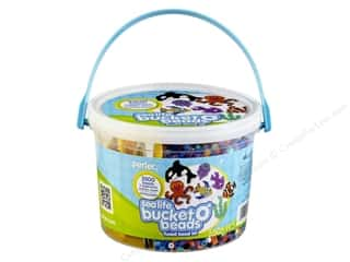 beading & jewelry making supplies: Perler Activity Bucket Sea Life