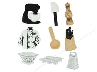 craft & hobbies: Jesse James Dress It Up Embellishments The Master Chef