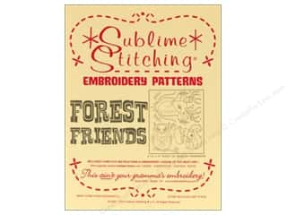 Sublime Stitching: Sublime Stitching Embroidery Transfers Forest Friends