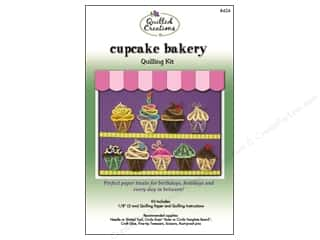 Projects & Kits: Quilled Creations Quilling Kit Cupcake Bakery