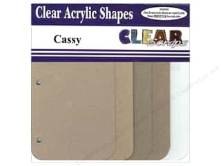 Chipboard Albums: Clear Scraps Mixables Album 8 x 8 in. Cassy