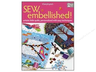 weekly specials Stamping: That Patchwork Place Books Sew Embellished Book by Cheryl Lynch