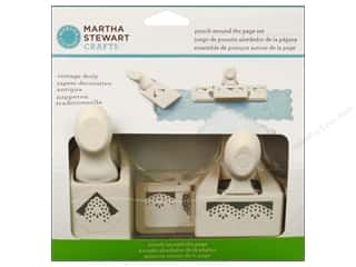 Weekly Specials Pen Sets: Martha Stewart Punch Around The Page Set Vintage Doily