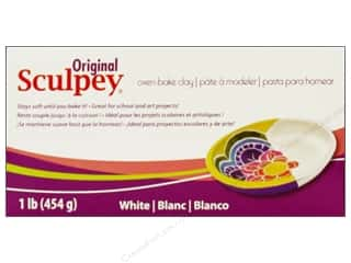 acrylic paint: Sculpey Original Clay 1 lb. White