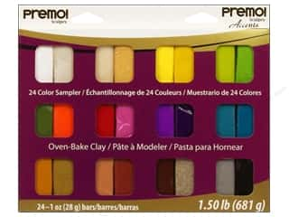 Sculpey: Premo! Sculpey Sampler Packs 24 pc.
