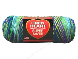 yarn & needlework: Red Heart Super Saver Yarn 236 yd. #3955 Wildflower