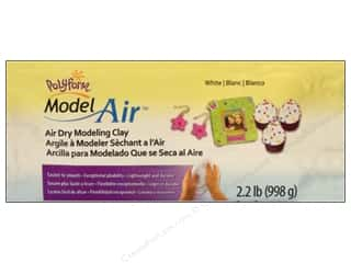 Polyform Model Air Clay Air Dry 2.2lb White
