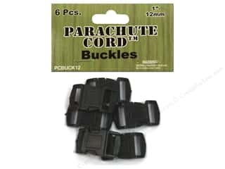 Buckles: Pepperell Parachute Cord Buckle 1/2 in. 6 pc.
