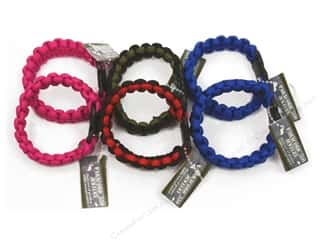 Pepperell Parachute Cord Accessories Girl's Bracelet Assorted