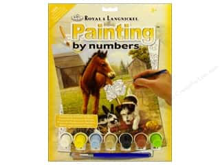 craft & hobbies: Royal Paint By Number Kit Lunch with Friends