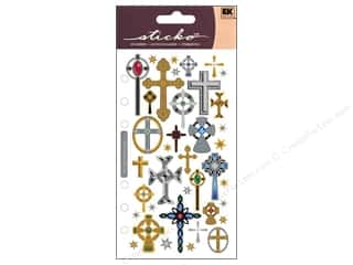 scrapbooking & paper crafts: EK Sticko Stickers Crosses