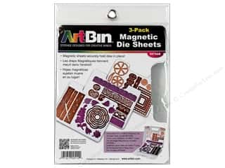 craft & hobbies: ArtBin Magnetic Die Sheet Set 3 pc.