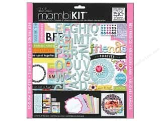 Me & My Big Ideas 12 x 12 in. Scrapbook Kit Friends Forever