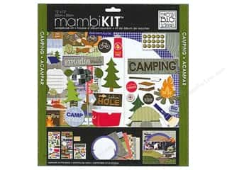 Me & My Big Ideas 12 x 12 in. Scrapbook Kit Camping Fun