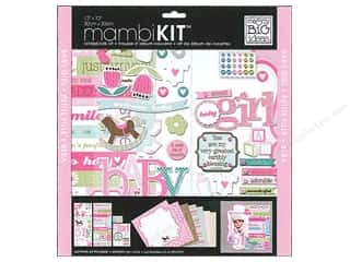 Everything You Love Sale Scrapbooking: Me & My Big Ideas 12 x 12 in. Scrapbook Kit Sweet Girl