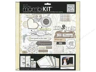 Me & My Big Ideas 12 x 12 in. Scrapbook Kit  Marry Me
