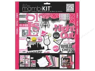 Me & My Big Ideas 12 x 12 in. Scrapbook Kit Girl's Night Out