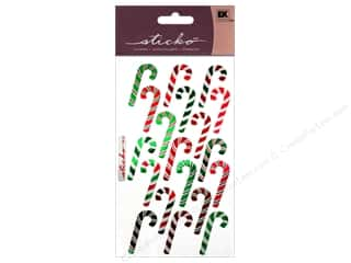 scrapbooking & paper crafts: EK Sticko Stickers Candy Canes