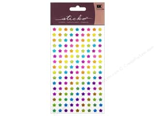 scrapbooking & paper crafts: EK Sticko Stickers Rainbow Stars