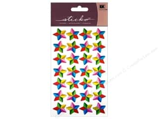 scrapbooking & paper crafts: EK Sticko Stickers Colorful Stars