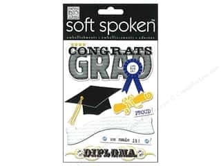 scrapbooking & paper crafts: Me & My Big Ideas Soft Spoken Stickers Congrats Grad