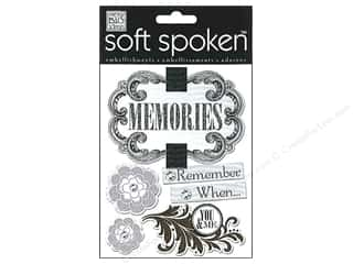 Me & My Big Ideas Soft Spoken Stickers Neutral Memories