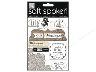 Me & My Big Ideas Soft Spoken Stickers Forever Mr. & Mrs. Neutral