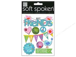 bird sticker: Me & My Big Ideas Soft Spoken Stickers Birds & Friends