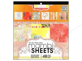 Me : Me & My Big Ideas Sheets Cardstock Pad 12 x 12 in. Sugar & Spice