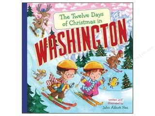 Sterling The 12 Days Of Christmas In Washington Book