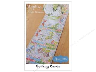 Table Runners / Kitchen Linen Patterns: Stitchin' Post Sophia Table Runner Sewing Card Pattern