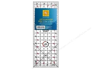 Weekly Specials Simplicity: EZ Quilting Leftie Rightie Acrylic Ruler 3 1/2 x 9 1/2 in.