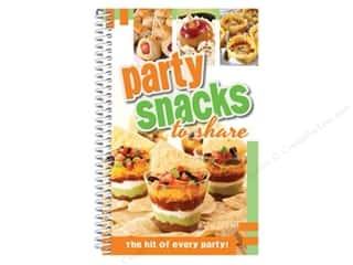 CQ Products Party Snacks To Share Book